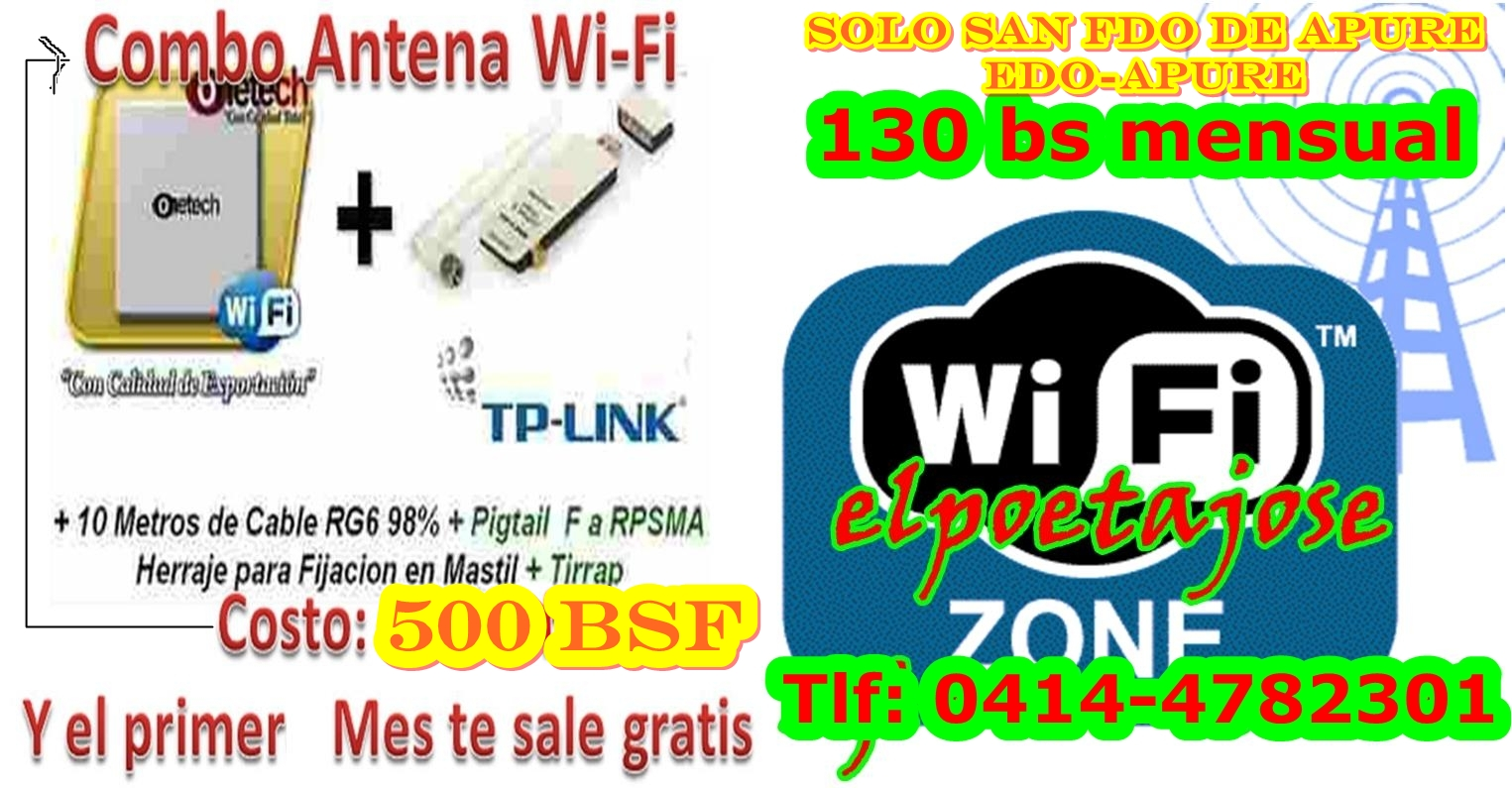 Venta de Internet (WiFi)